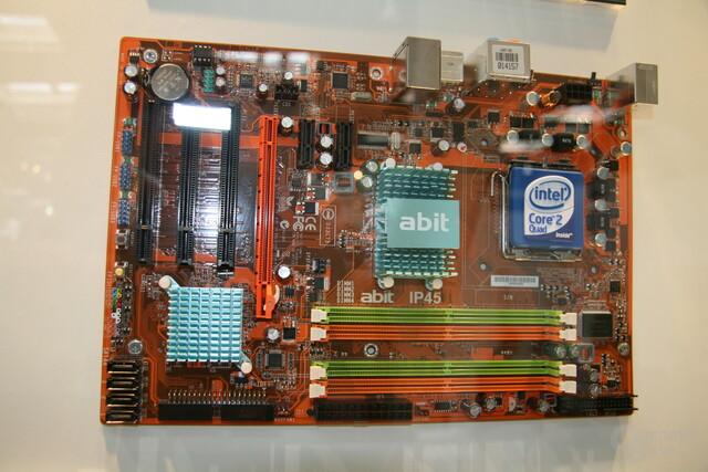 P45 von Abit mit DDR2