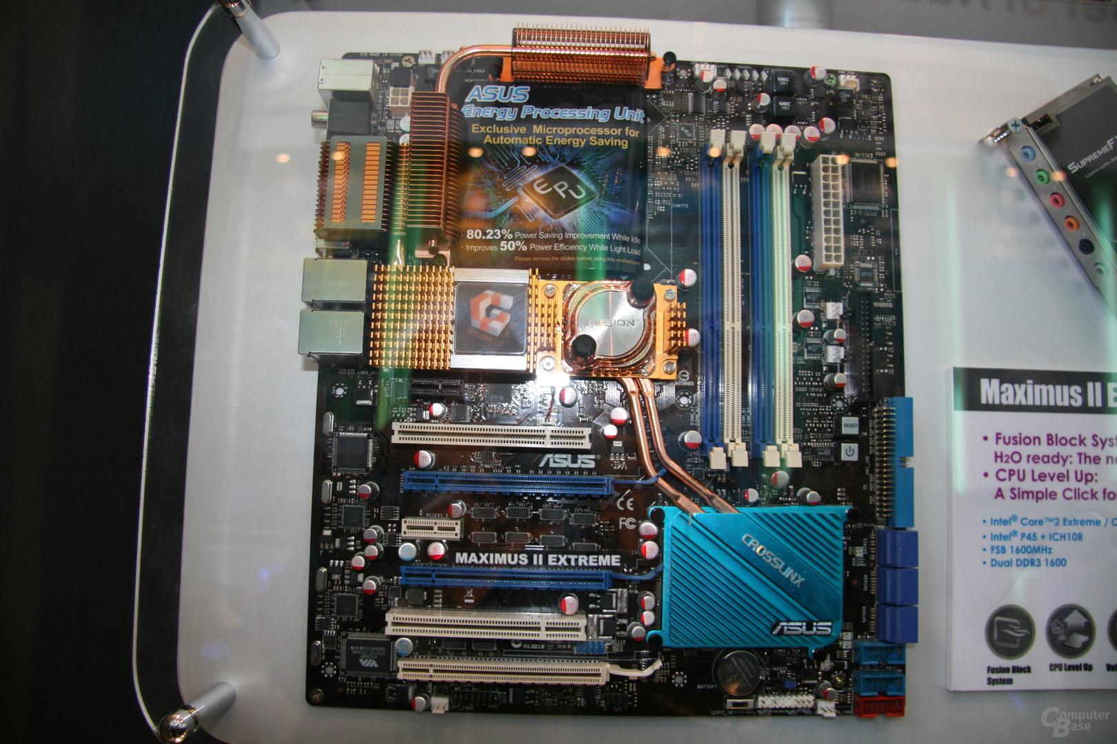 P45 von Asus mit DDR3