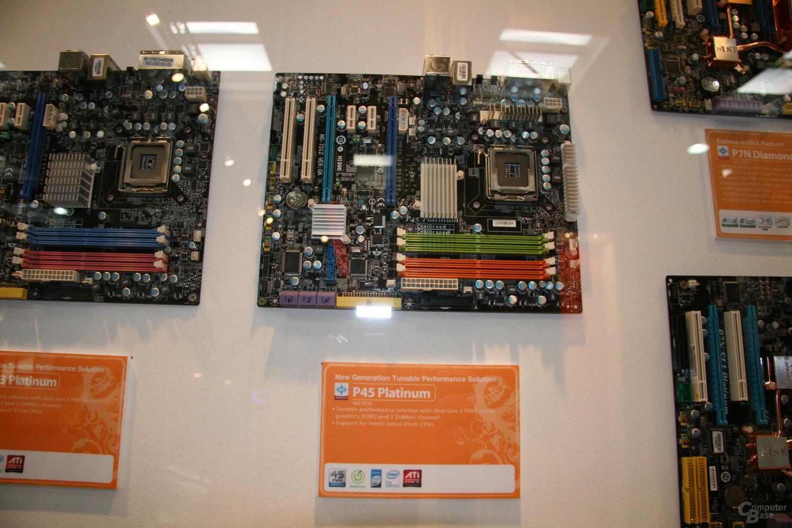 P45 von MSI mit DDR2