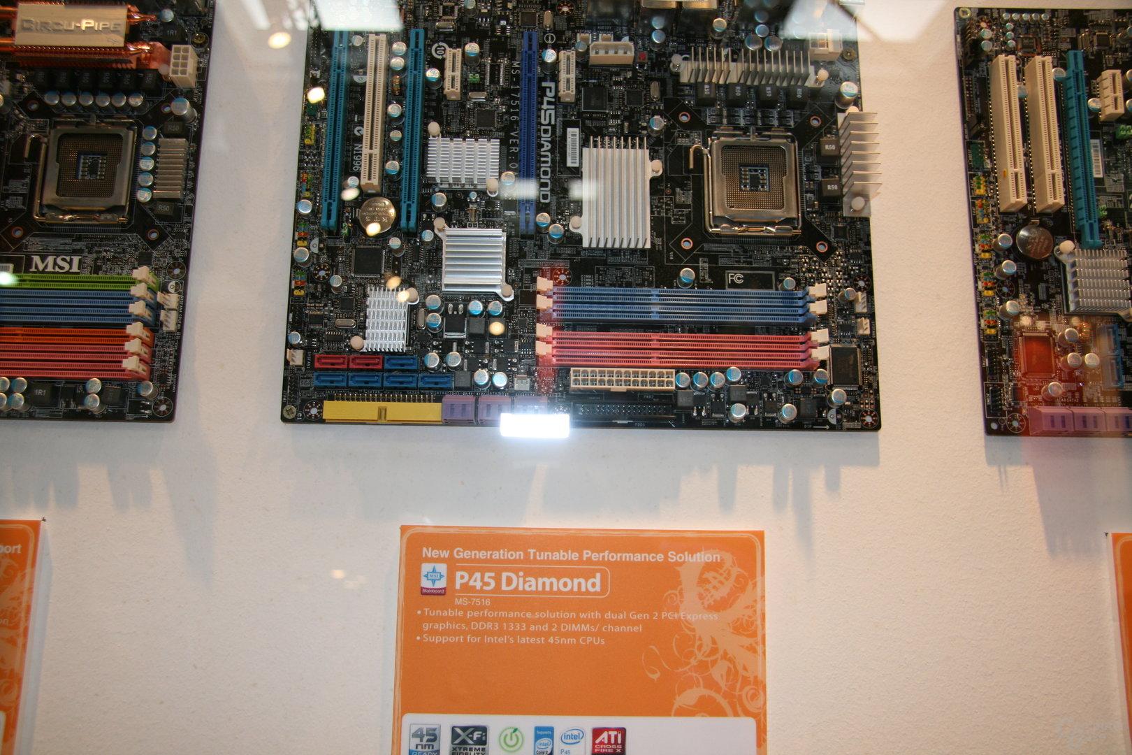 P45 von MSI mit DDR3