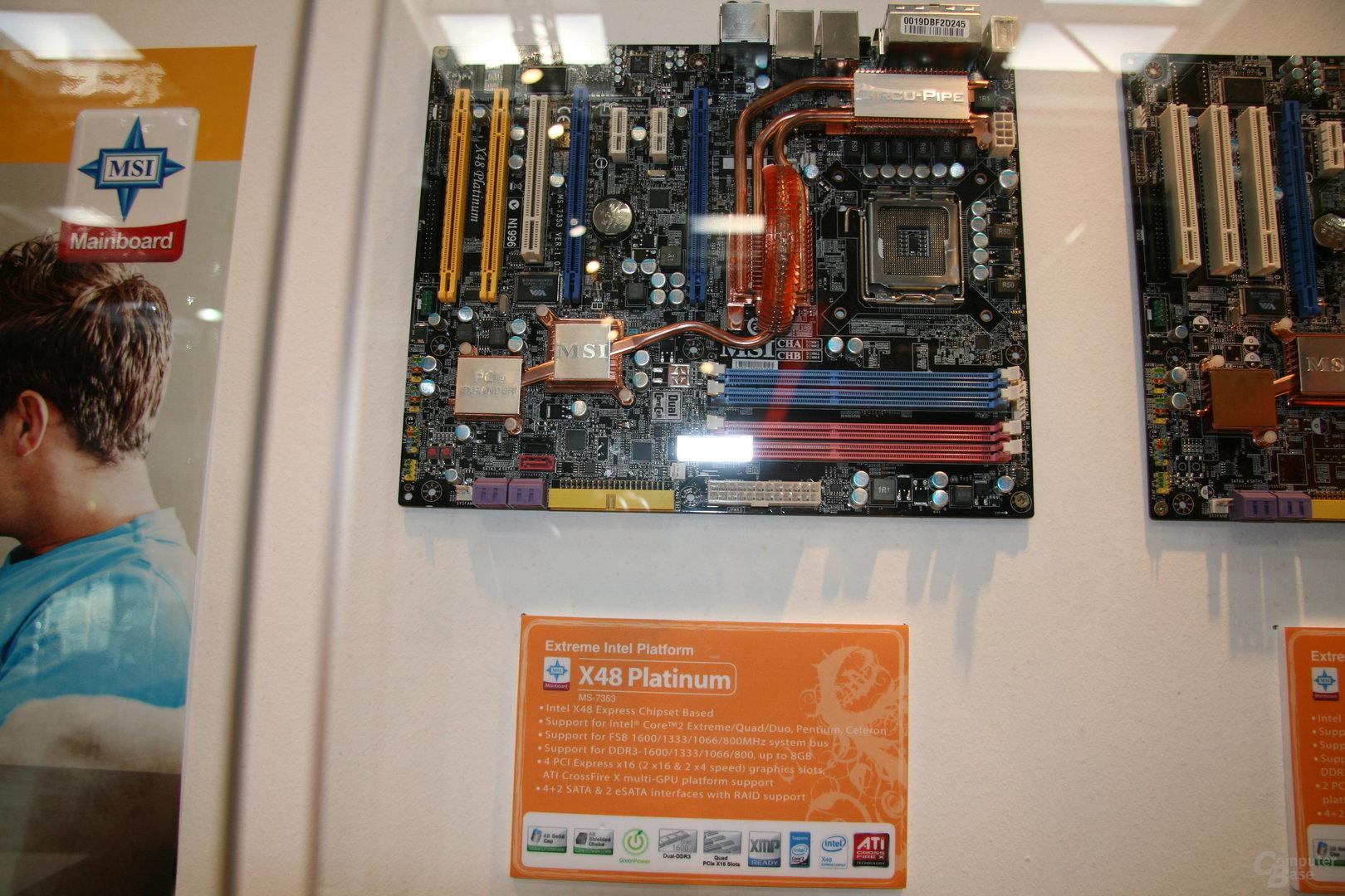 X48 von MSI mit DDR3