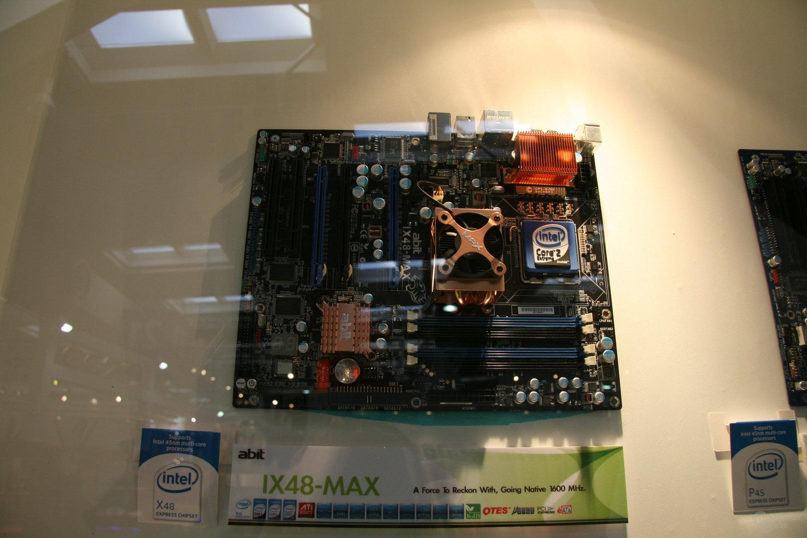 X48 von Abit mit DDR3