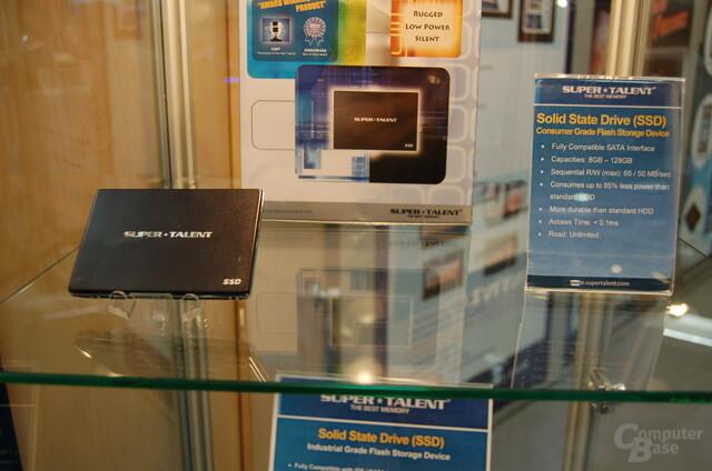 Solid State Disk für den Retail-Markt von Super Talent