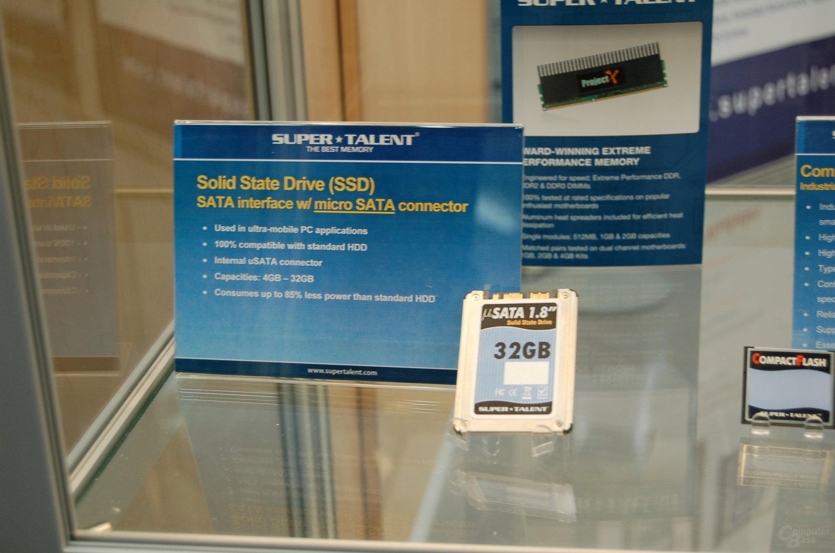 SSD mit micro-SATA-Anschluss