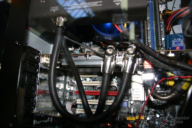 Sapphire Radeon HD 3870 X2 mit Wasserkühlung
