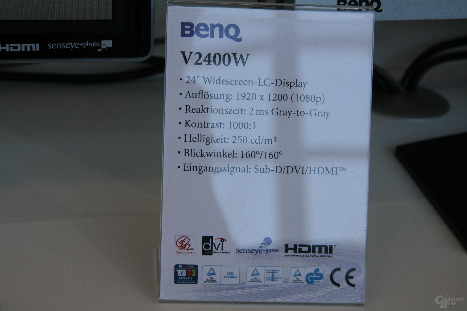 BenQ V2400W