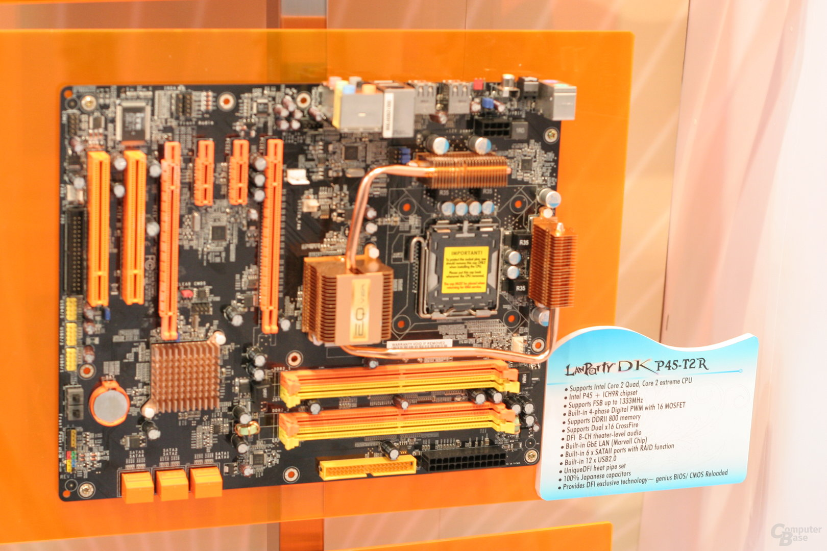 DFI LanParty DK P45-T2R