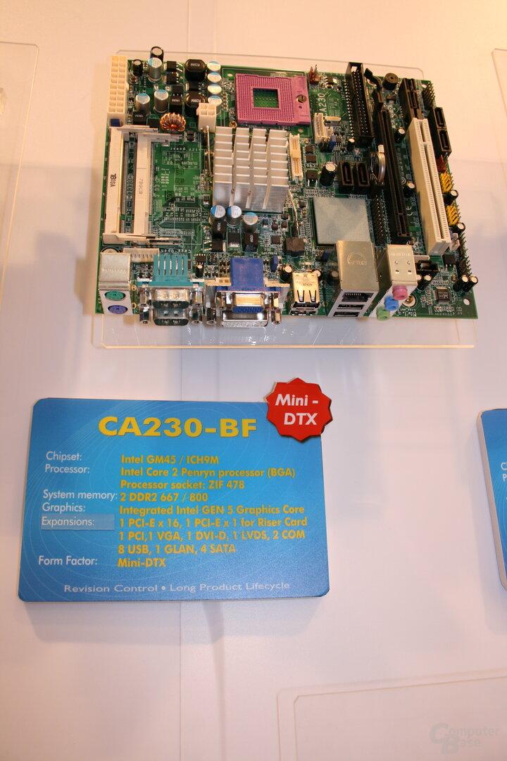 CeBIT 2008 – DFI CA-230BF