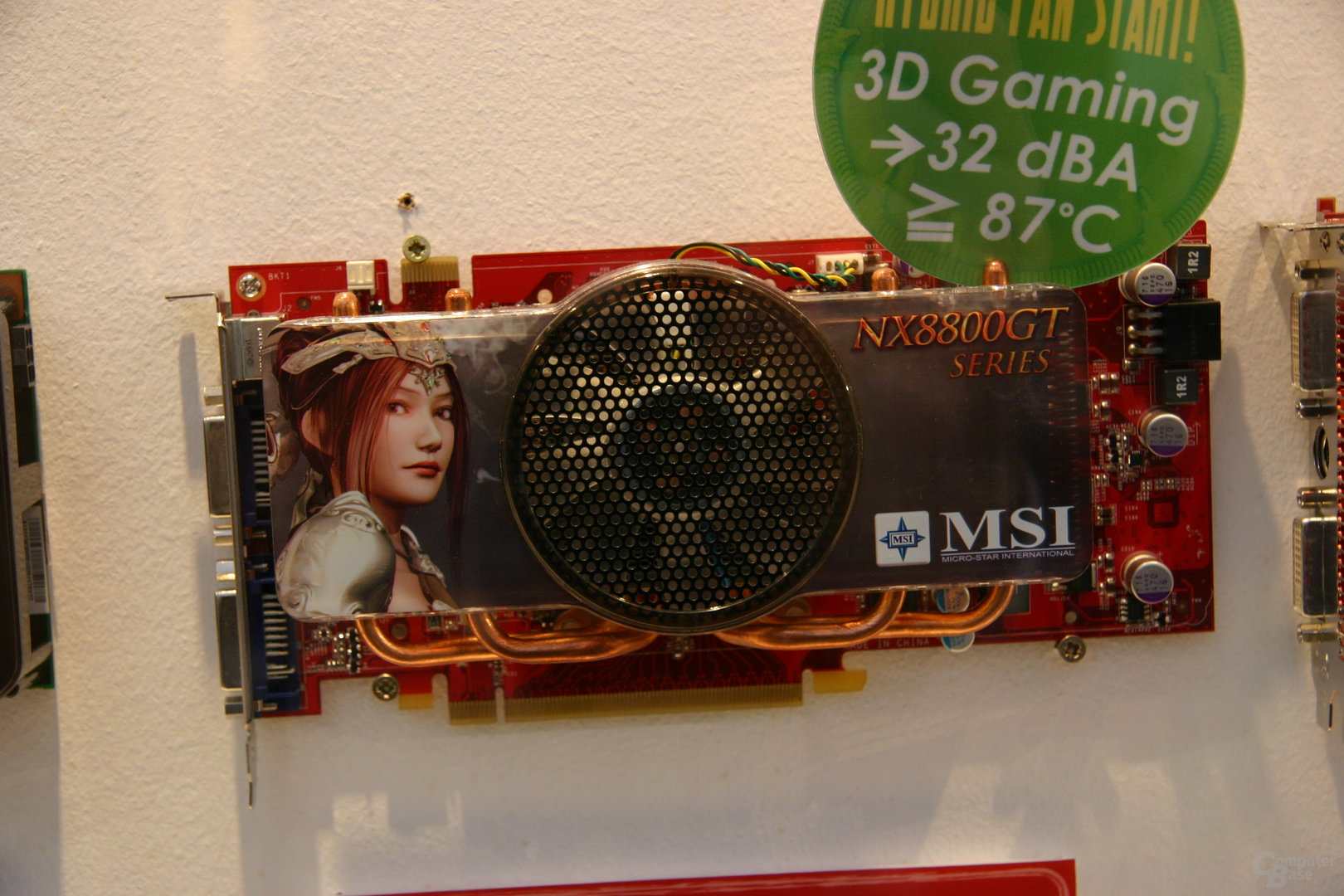 MSI GeForce 8800 GT Hybrid Freezer