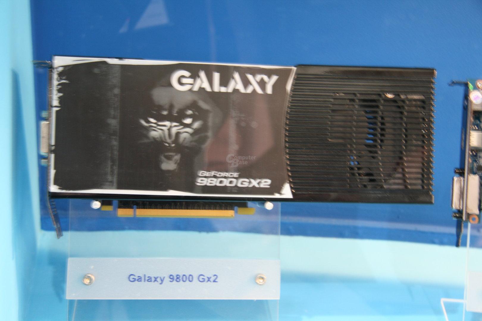 Galaxy GeForce 9800 GX2