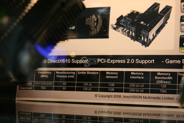 Inno3D GeForce 9800 GX2