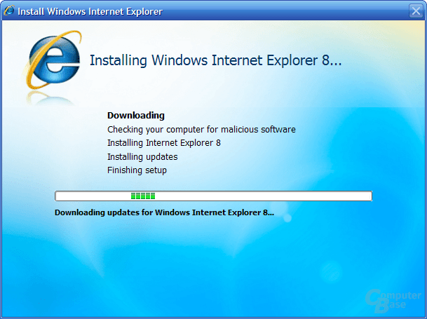 Internet Explorer 8 Beta 1