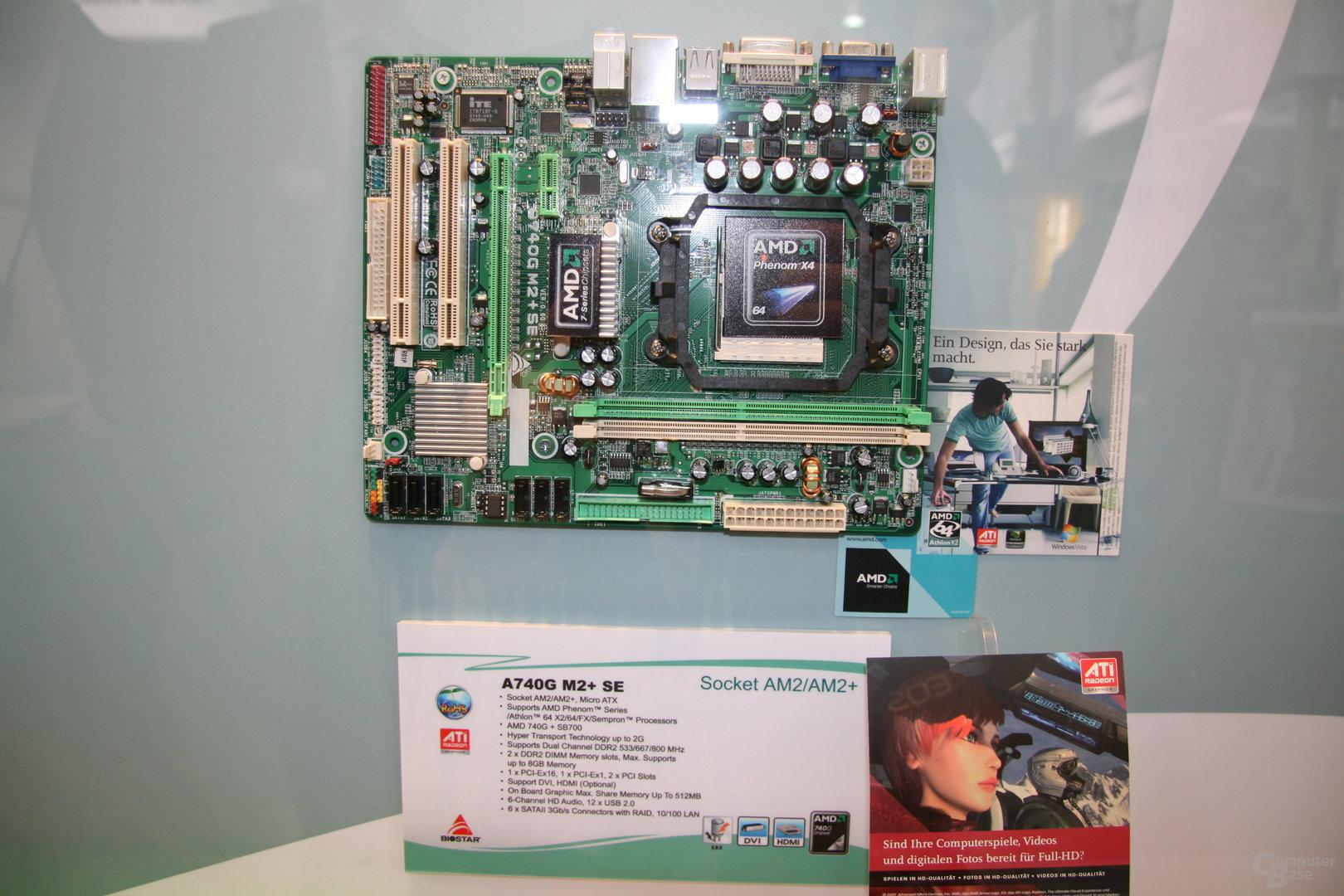 Neue AMD-Mainboards auf der CeBIT