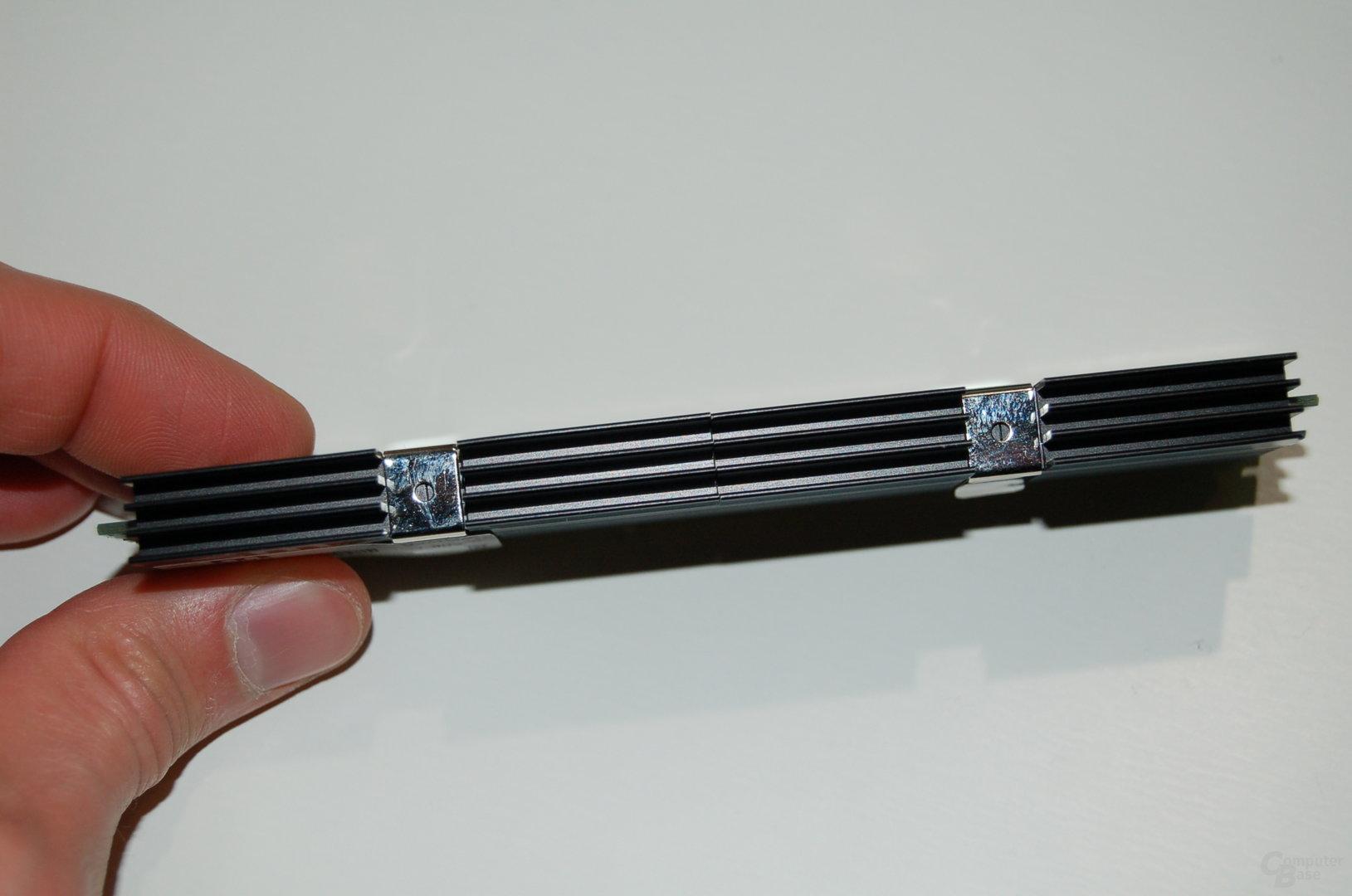 DDR3-Speicher mit neuem Heatpipe-Heatspreader von Mushkin