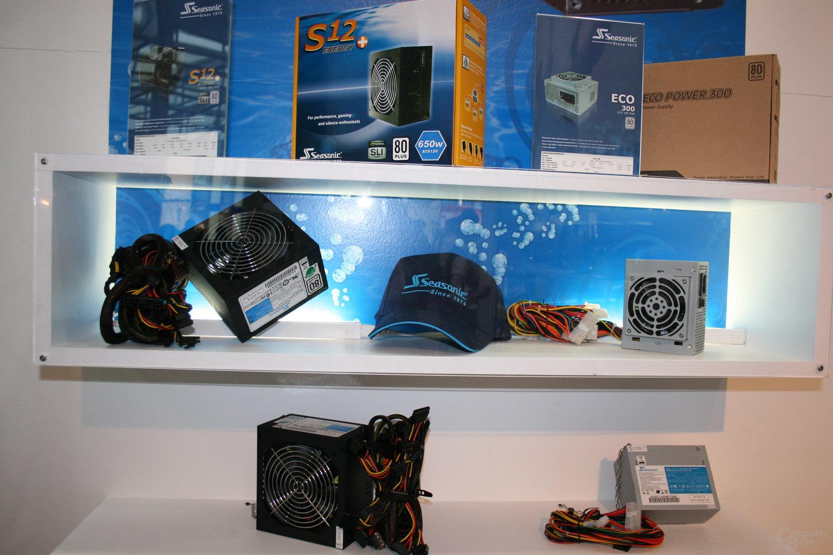 Seasonic-Netzteile auf der CeBIT 2008