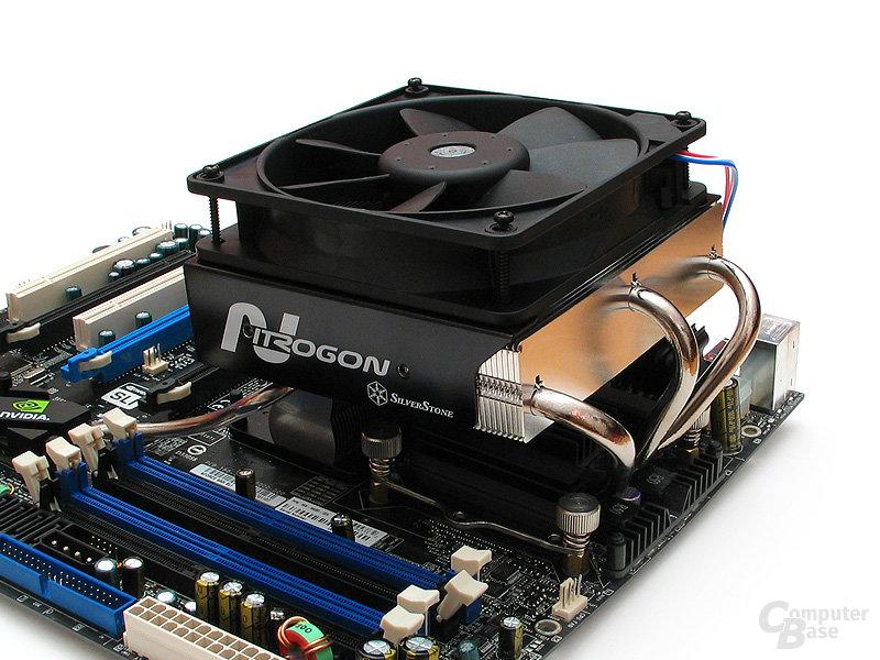 Kühlertestsystem: Wir testen den NT06 in gewohnter Manier mit Referenzlüftern