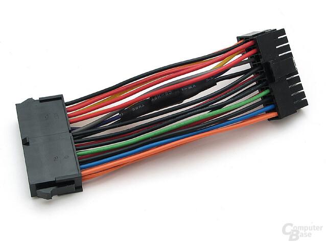 Optionales Netzteilkabel, um eventuelle Pfeifgeräusche zu eleminieren