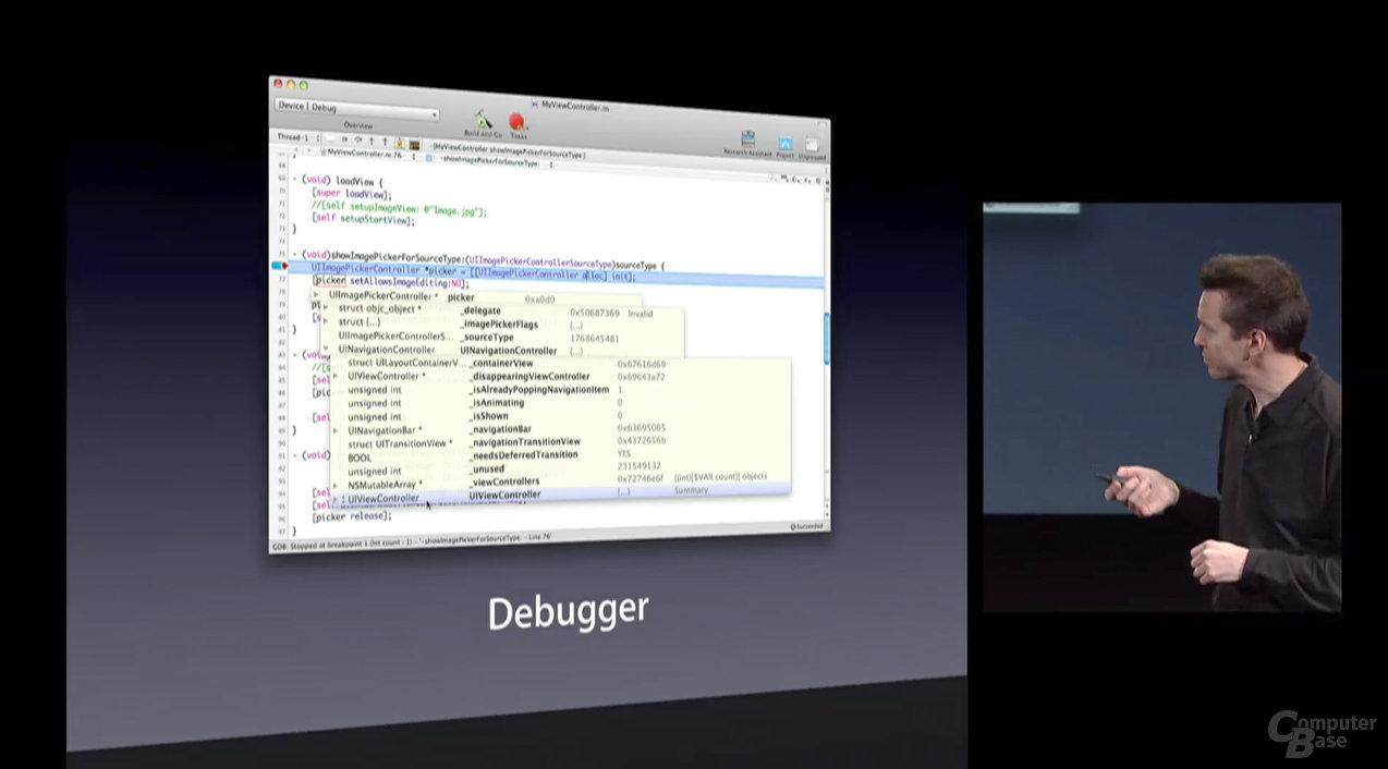 iPhone SDK - Debugger
