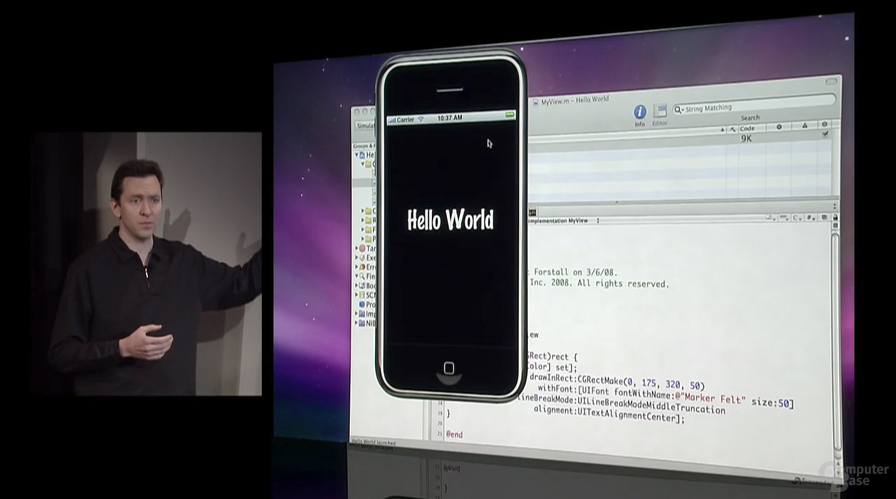 iPhone SDK - Hello World
