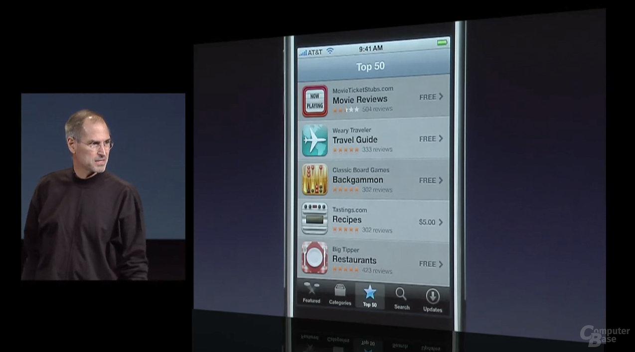 Apple iPhone App Store
