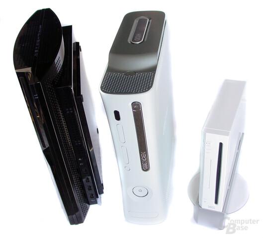 PLayStation 3, Xbox 360 und Wii