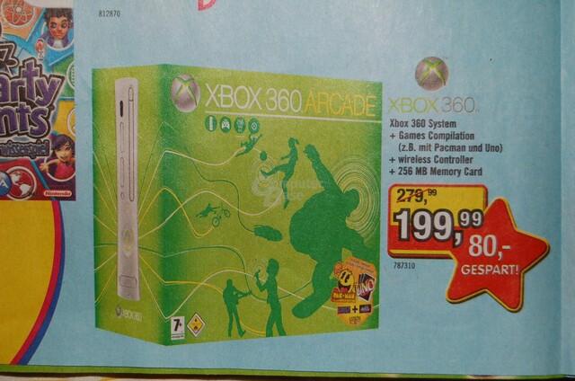 Xbox 360 für 199 Euro