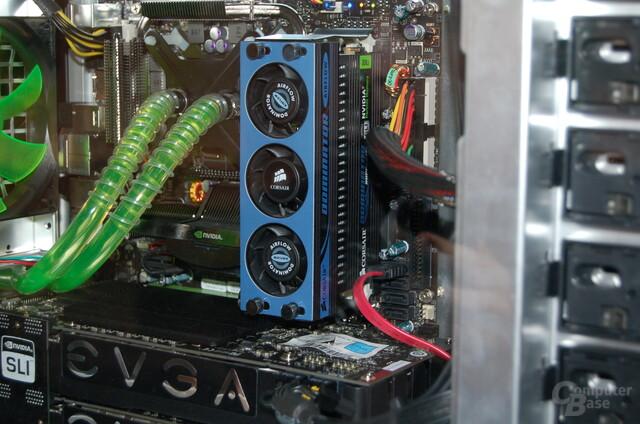 Luftgekühlte DDR3-2133-Module der Dominator-Serie von Corsair