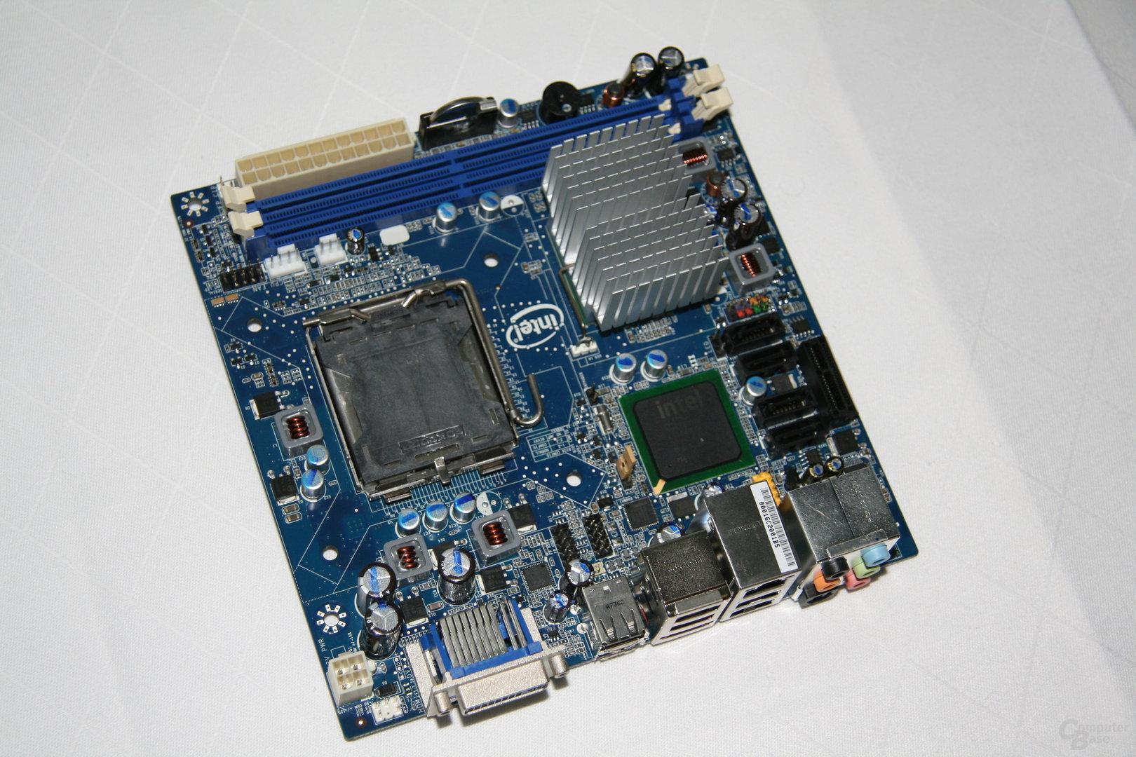 Intel DG45FC Mini-ITX-Mainboard mit G45