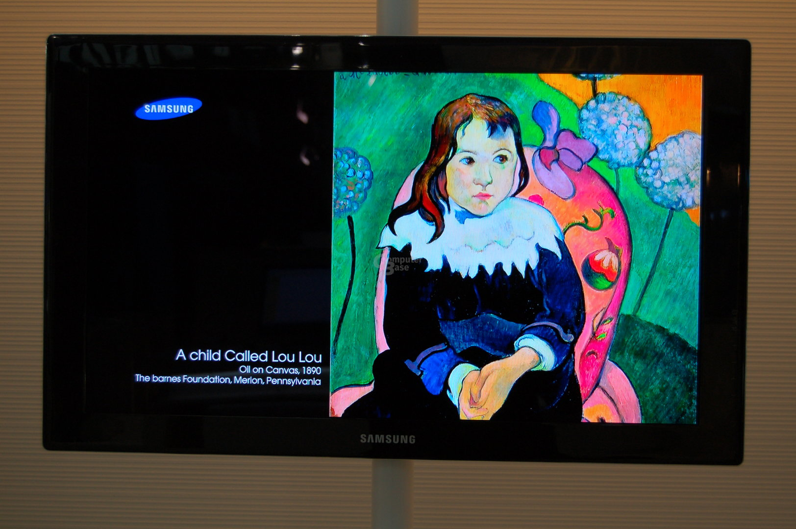 """31"""" OLED-TV von Samsung"""