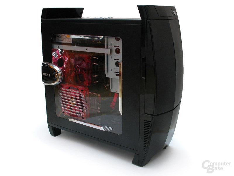 Seitenfenster und Rot-Schwarze Optik