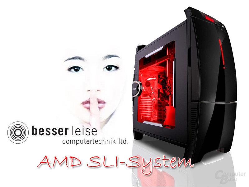 Besser-Leise AMD-SLI-System