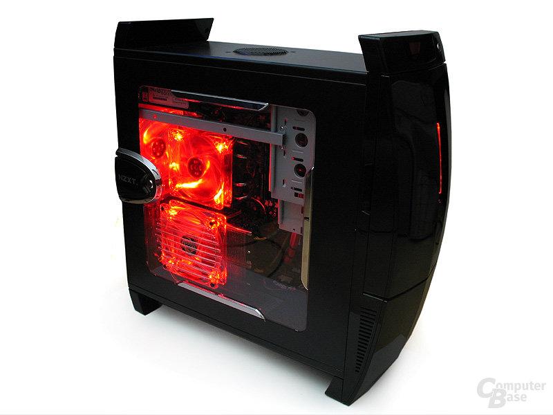LED-beleuchtete Revoltec-Lüfter
