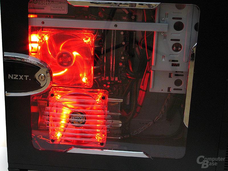 Seiten- und CPU-Lüfter