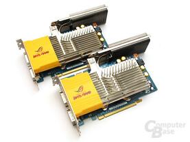 Unterklasse SLI: Passiv gekühlte Asus 8600 GT