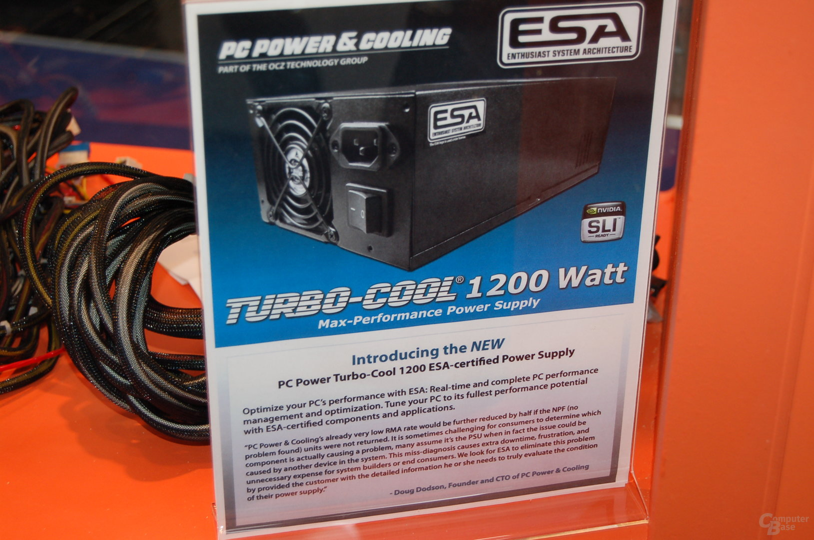 PC Power & Cooling Turbo-Cool 1200 ESA