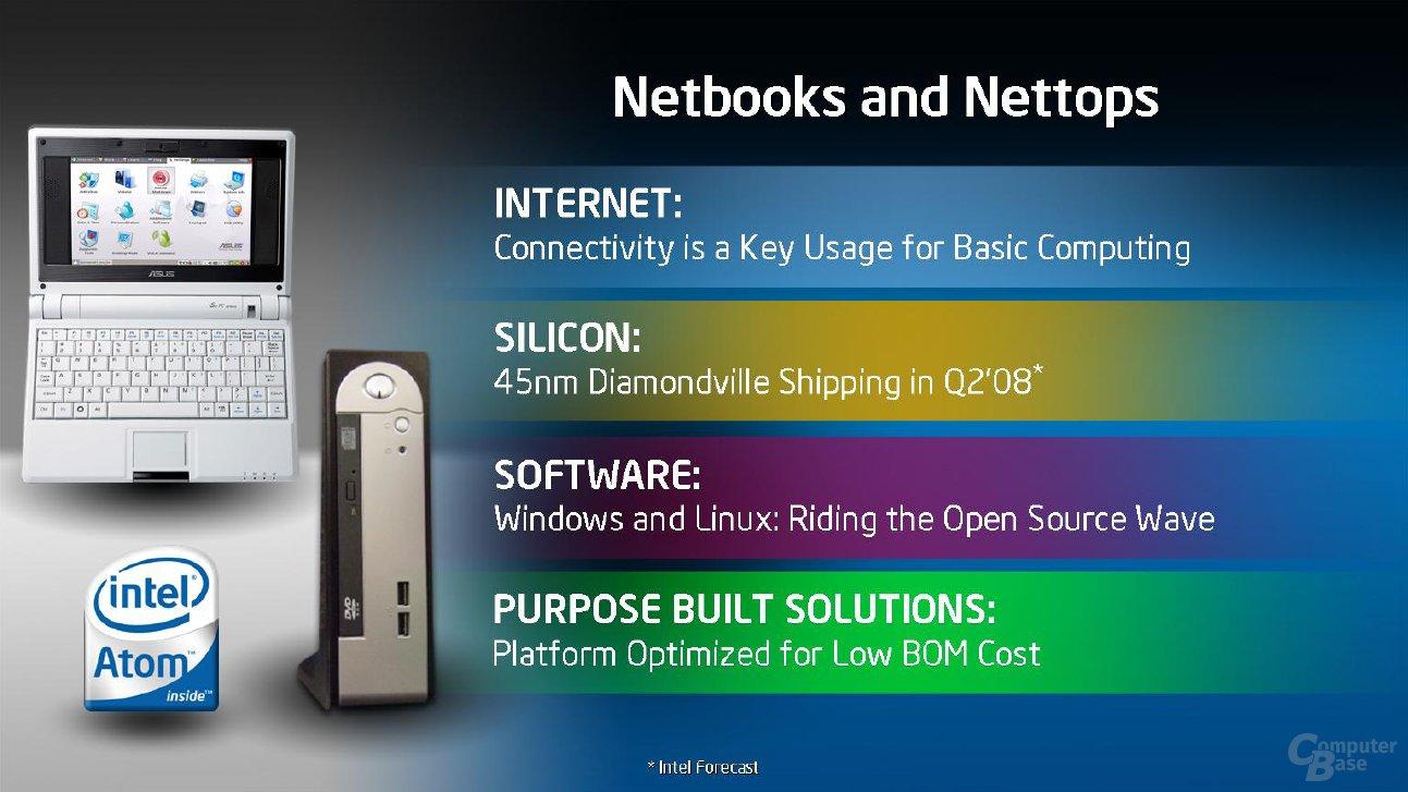 Diamondville - Silverthorne in Netbooks und Nettops