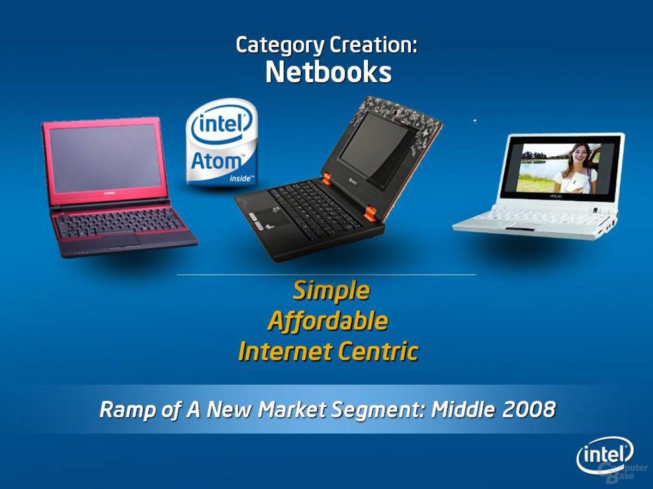 Netbooks - Mehr Produkte der EeePC-Klasse