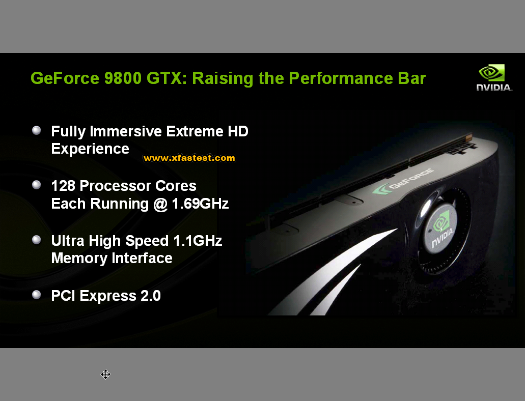 Geforce 9800 GTX Produktpräsentation