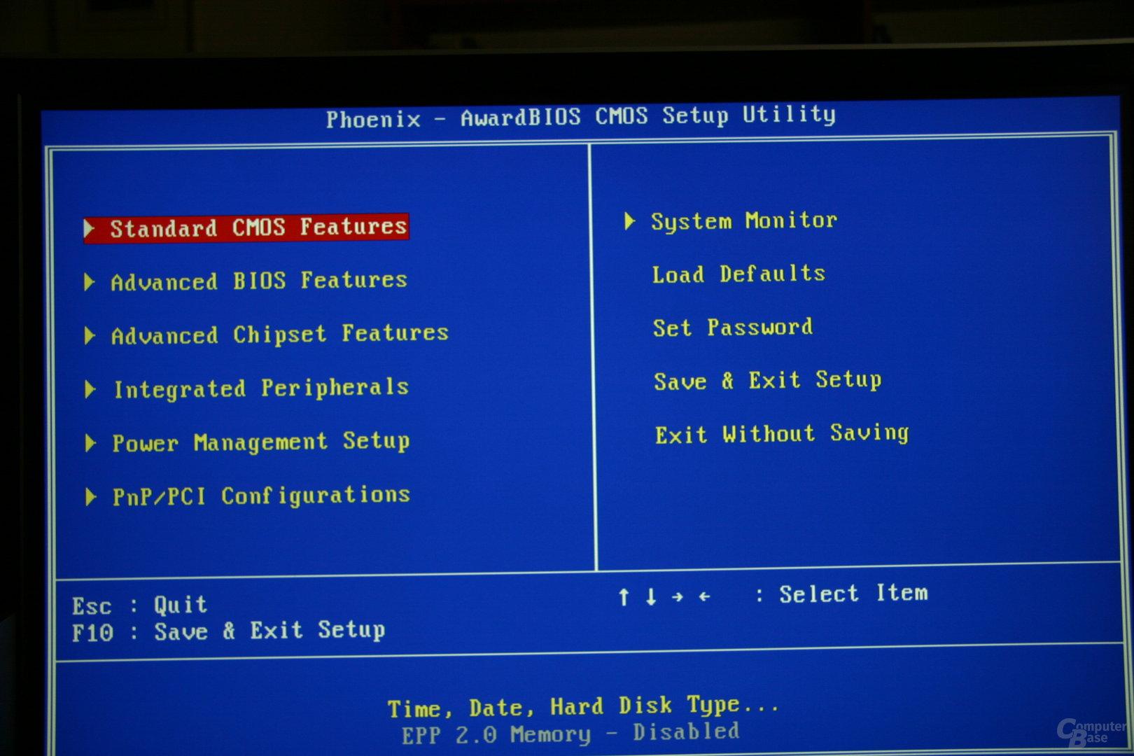 BIOS nForce 790i Ultra SLI