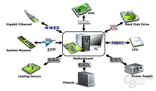 ESA Diagramm