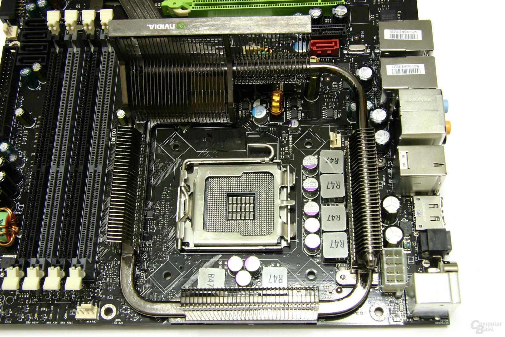 nForce 790i Ultra SLI CPU-Bereich
