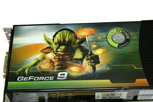 POV GeForce 9800 GX2 Sticker