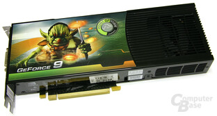 Point of View GeForce 9800 GX2