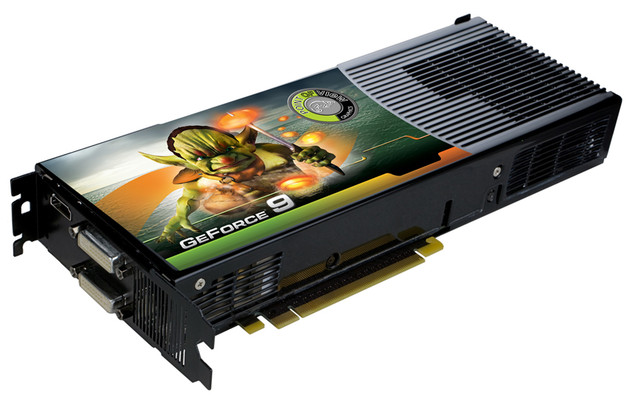 Gainward GeForce 9800 GX2