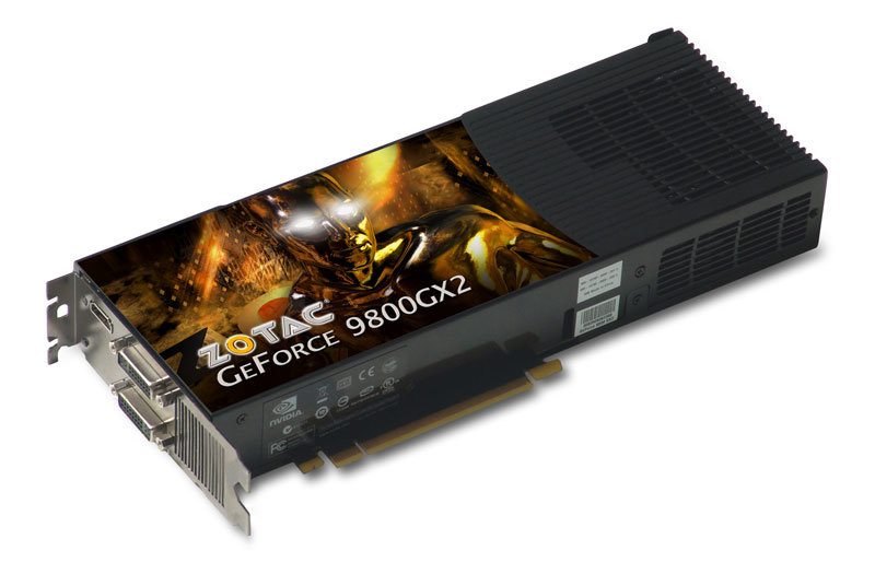 Zotac GeForce 9800 GX2