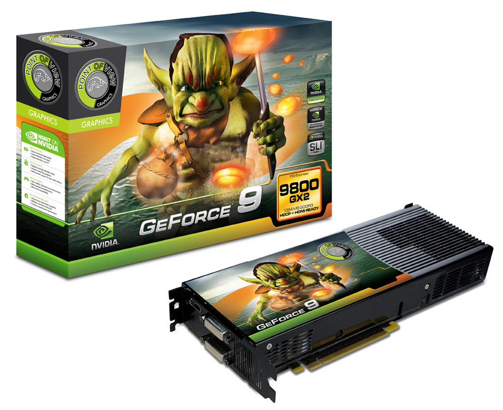 Gainward GeForce 9800 GX2