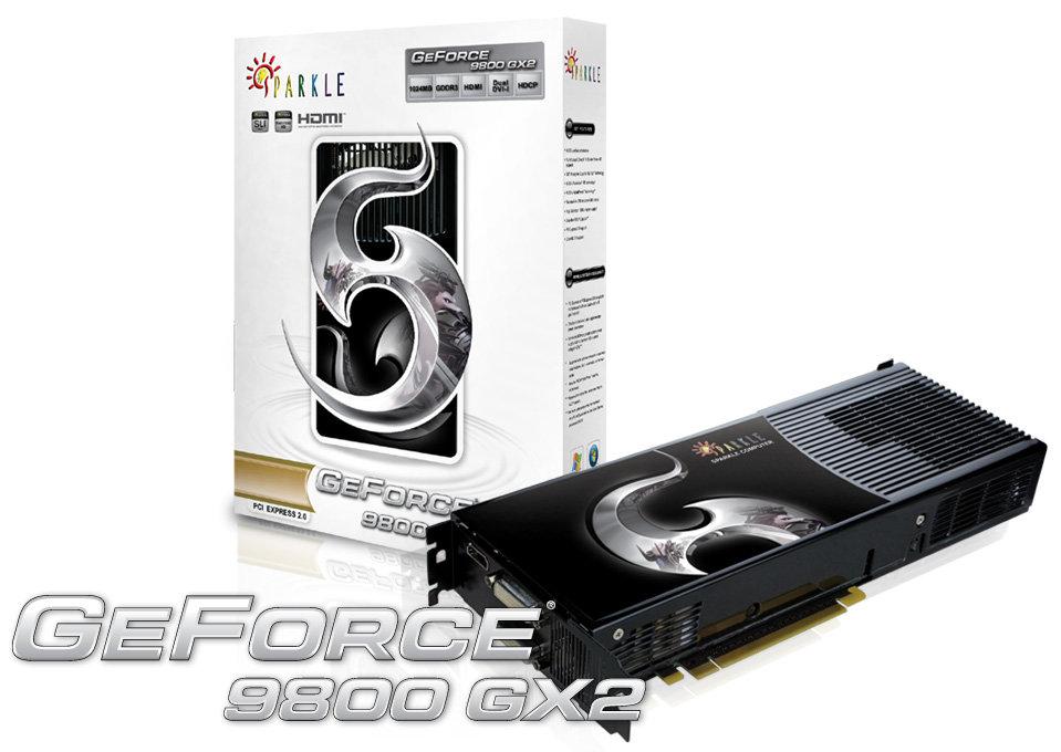Sparkle GeForce 9800 GX2