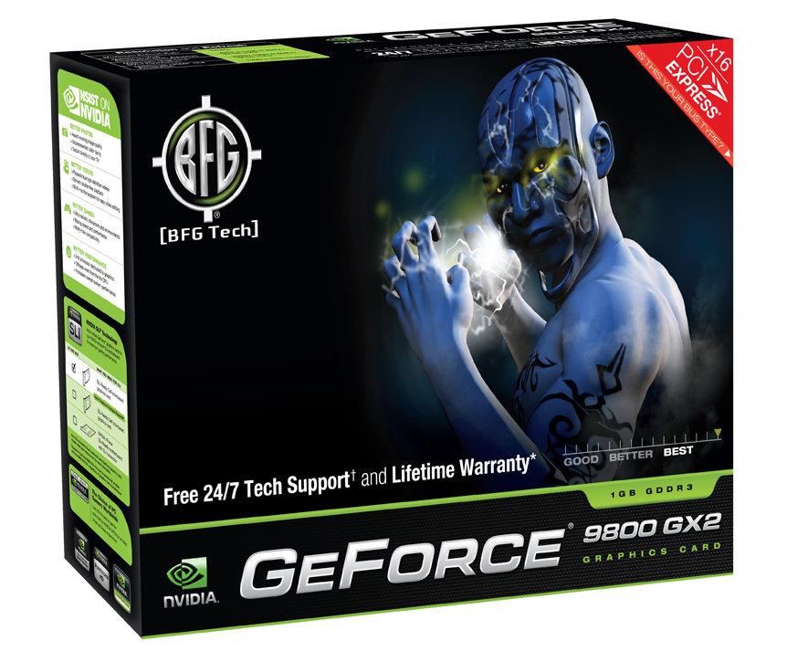 BFG GeForce 9800 GX2