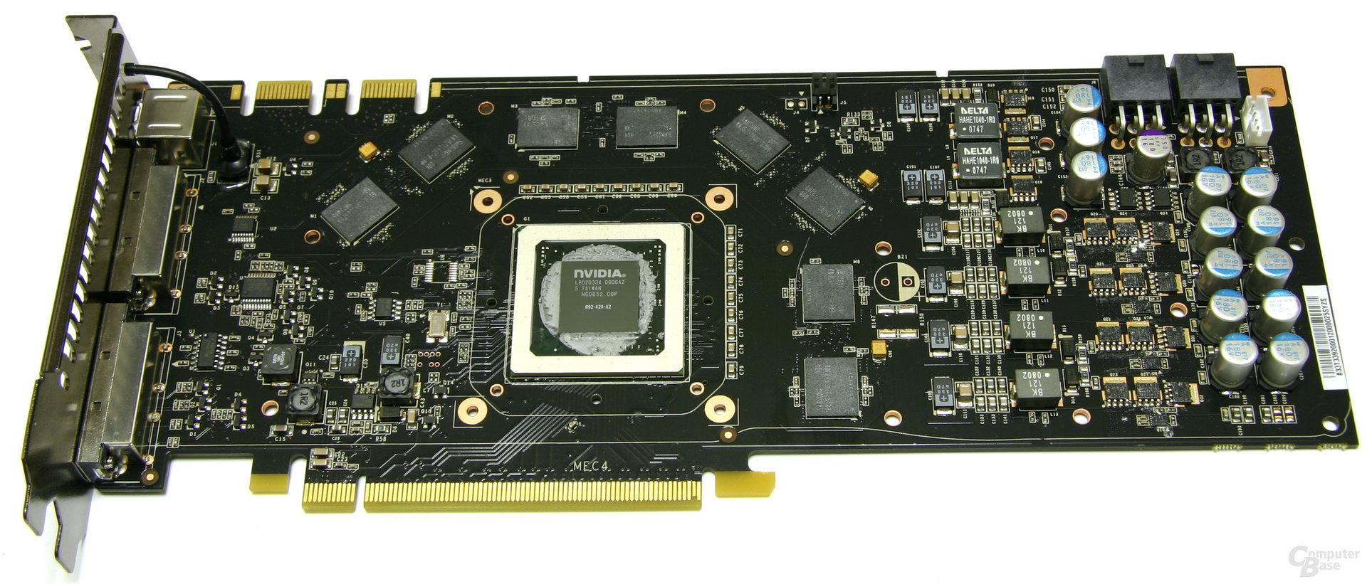 GeForce 9800 GTX ohne Kühler