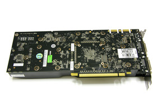 GeForce 9800 GTX Rückseite